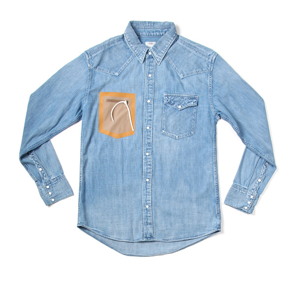 Visvim Social Sculpture Weld Denim Shirt-6