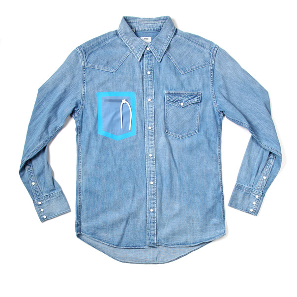 Visvim Social Sculpture Weld Denim Shirt