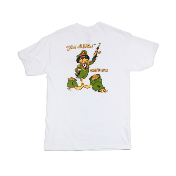 FUCT Qaddafi Duck T-Shirt-2