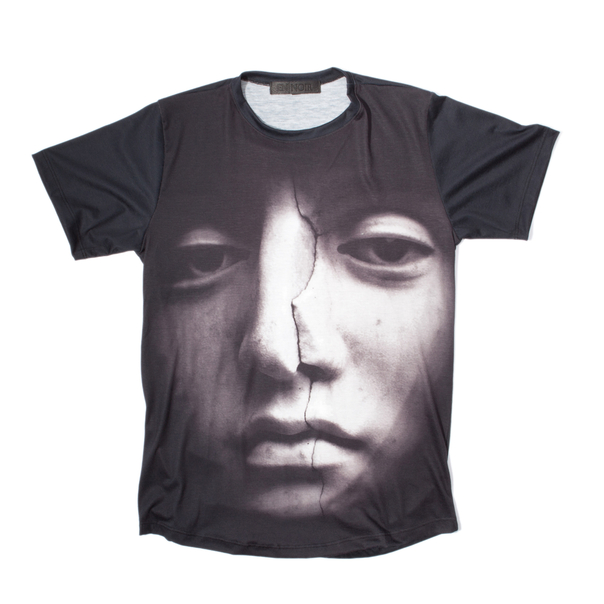 En Noir Cracked Face T-Shirt