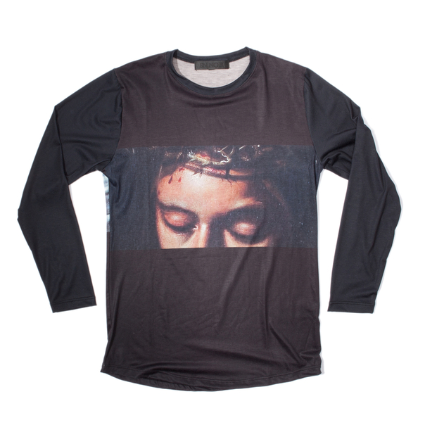 En Noir Crucifixion Long Sleeve Shirt