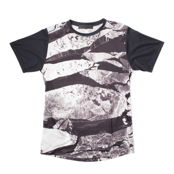En Noir Shattered Surface T-Shirt