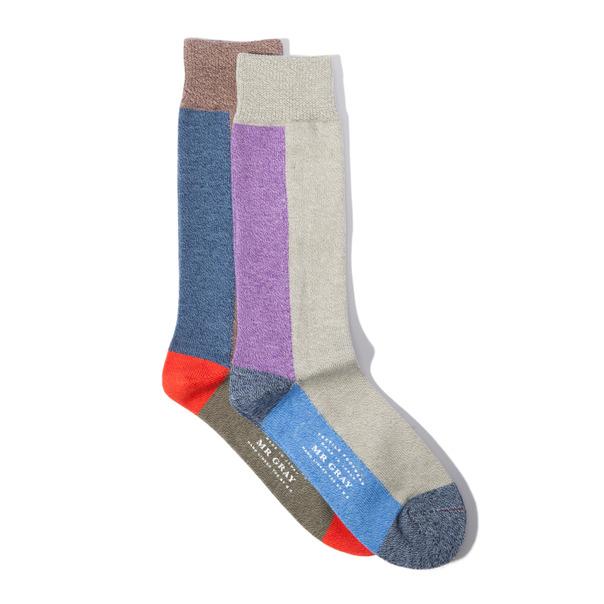 Mr Gray Block Sock-3