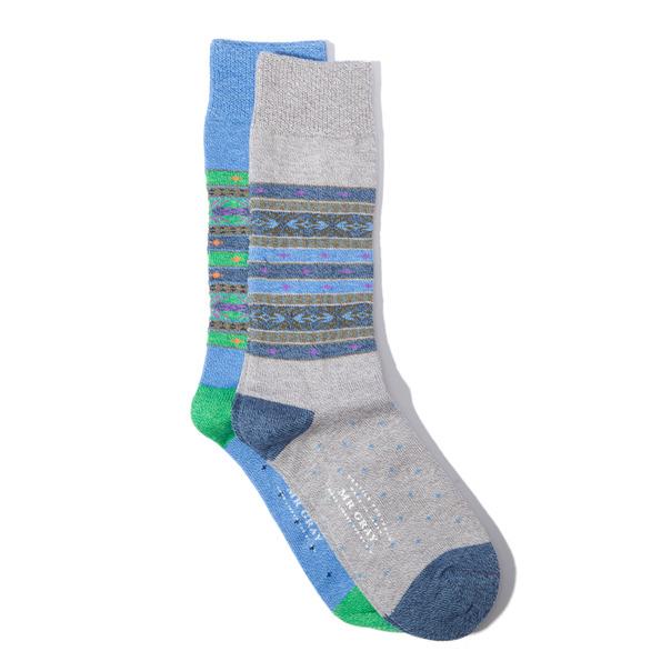 Mr Gray Shetland Sock-6