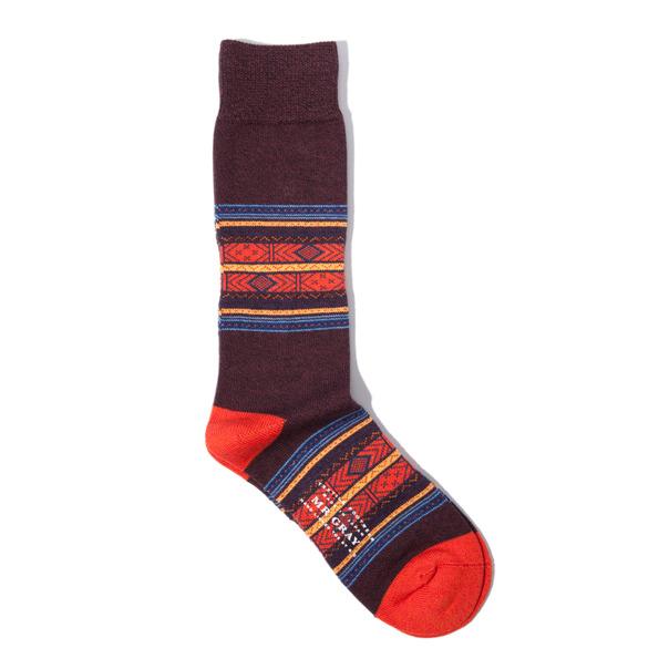 Mr Gray Shetland Sock