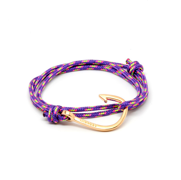 Miansai Rose Gold Plated Hook Rope-2