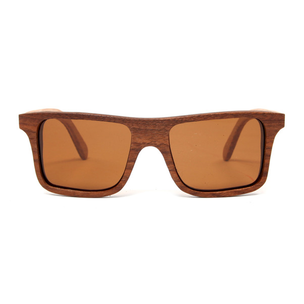 Shwood Govy Zebra Wood Brown Lens