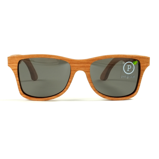 Shwood Cherry Wood Canby Sunglasses-4