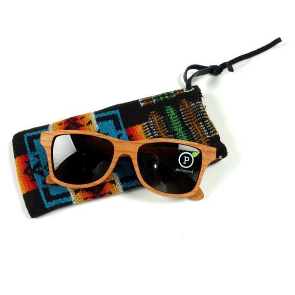 Shwood Pendleton Cherry Sunglasses-2