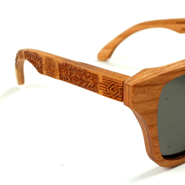 Shwood Pendleton Cherry Sunglasses-6