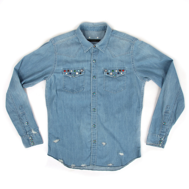 Sophnet  Western Denim LS Shirt (DMG)