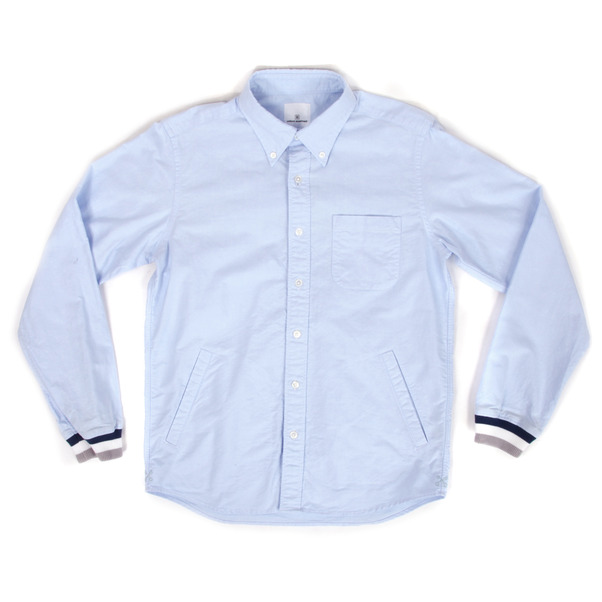 UNIFORM EXPERIMENT  Ribbed Oxford B.D. LS Shirt