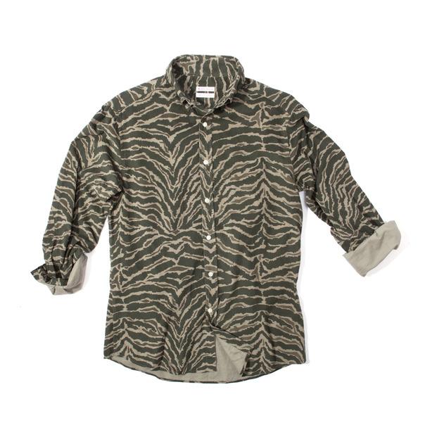 Michael Bastian Camo B.D. Shirt