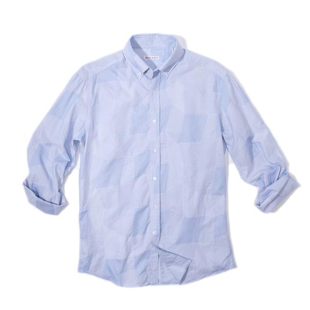 Michael Bastian Stitch Patchwork B.D. Shirt