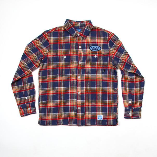 Neighborhood NBHD King Check C-Shirt -5
