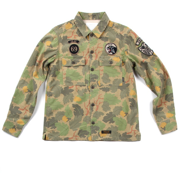 Neighborhood Reed Camo BDU Shirt-2