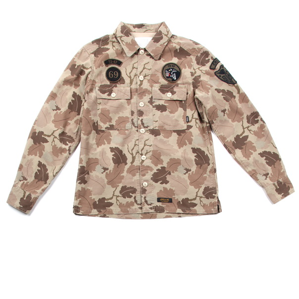 Neighborhood Reed Camo BDU Shirt