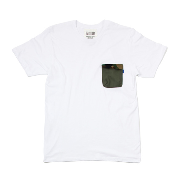 Tantum Camo Snap Pocket T-shirt