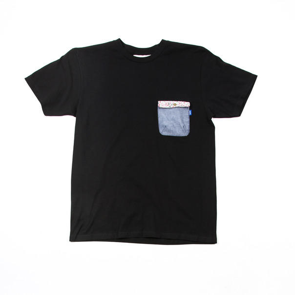 Tantum Floral Snap Pocket T-shirt
