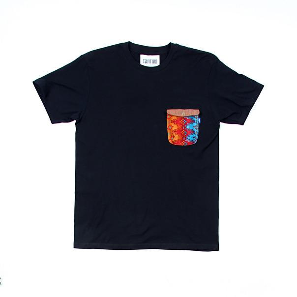 Tantum Navajo Snap Pocket T-Shirt