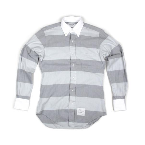 TB - classic wide stripe flannel
