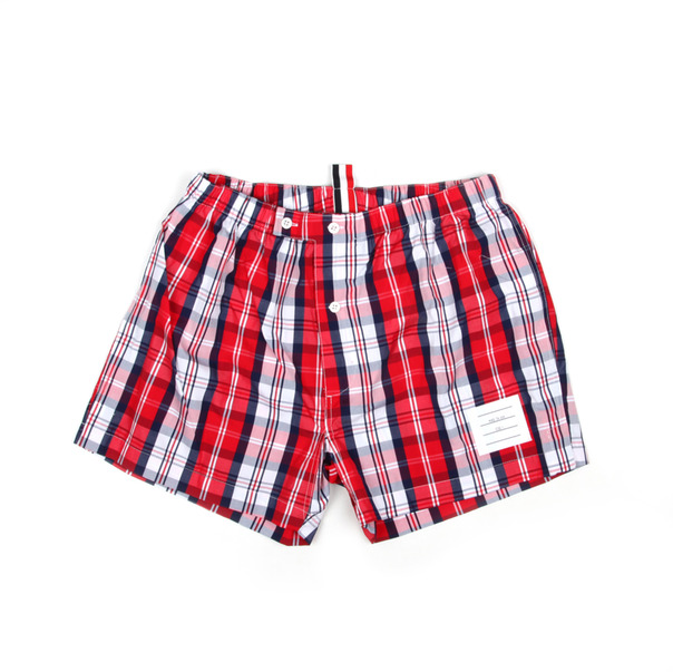 ThomBrowne - poplin boxer eleanor plaid ll